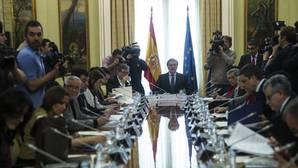 El ministro de Educación, Íñigo Méndez de Vigo, presidiendo la Conferencia Sectorial