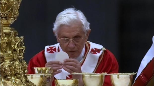 Benedicto XVI en su 90 cumpleaños