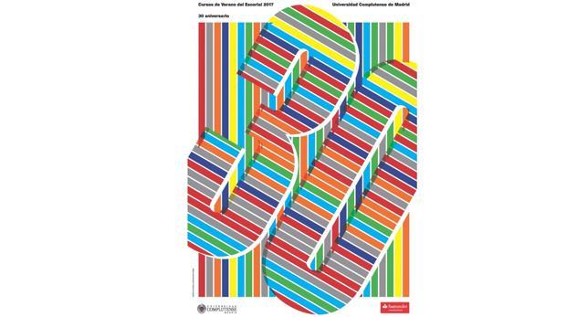 Cartel anunciador de los Cursos de Verano de la UCM 2017
