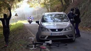 Imagen facilitada por la Guardia Civil de la serie de la televisión gallega «Luz Verde» que pretende concienciar a los infractores de que las cosas se pueden hacer de otra manera