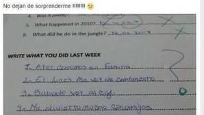 Suspenden de sus funciones a una profesora que se burló en Facebook del examen de una alumna