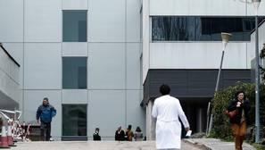 Fachada del Hospital de La Paz, en Madrid