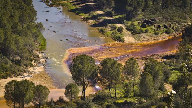 Imagen de archivo del río Odiel, en Huelva