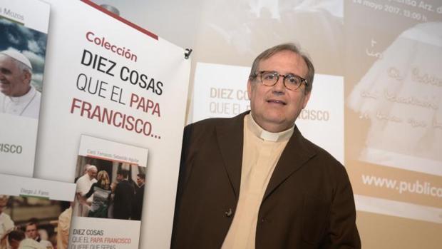 El sacerdote y periodista Manuel Bru