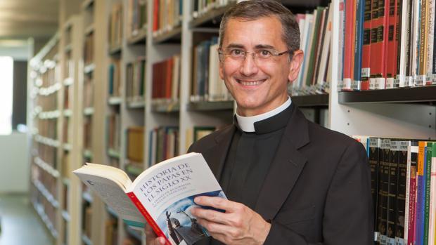 El sacerdote e historiador Onésimo Díaz