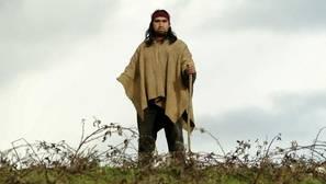 Imagen de archivo de un miembro de la población mapuche