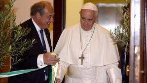 Francisco, en su visita a Italia