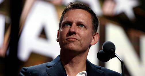 Peter Thiel es fundador de PayPal y filósofo
