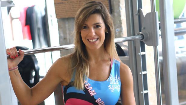Carla Sánchez Zurdo en el centro de entrenamiento Boostconcept