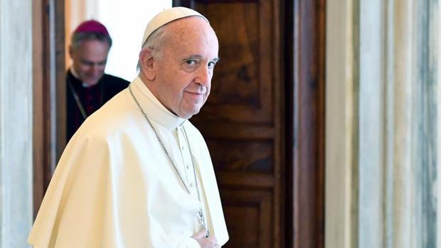 El Papa Francisco durante una de sus audiencias privasdas en el Palacio Apostólico