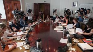 Los partidos aprueban un pacto histórico contra la Violencia de Género