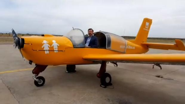 Avioneta de Hazte Oír