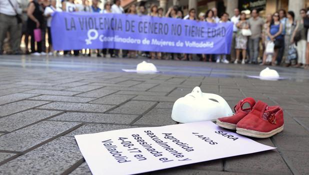 Valladolid entera muestra su repulsa por la muerte de la niña Sara, de 4 años de edad
