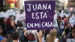Imagen de archivo de concentración en Madrid en apoyo a Juana Rivas