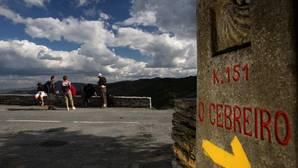 Caminantes, durante el Camino de Santiago