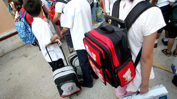Las familias españolas se preparan para volver a la escuela