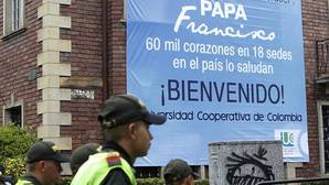 Bogotá ya está preparada para la llegada del Papa Francisco