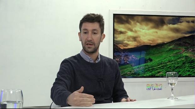 Matías Cadaveira, sicólogo argentino autor de un libro sobre el autismo