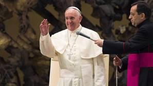 El Papa Francisco, durante un acto en El Vaticano