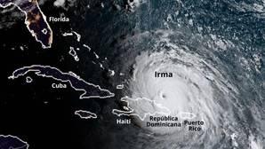 Guía visual del camino de destrucción del huracán Irma