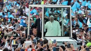 El Papa, en Bogotá