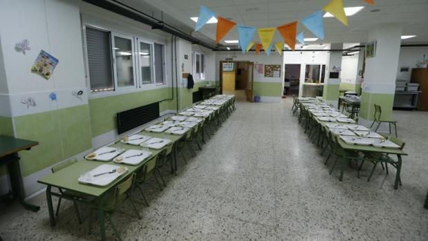 Cuánto cuesta un menú escolar?