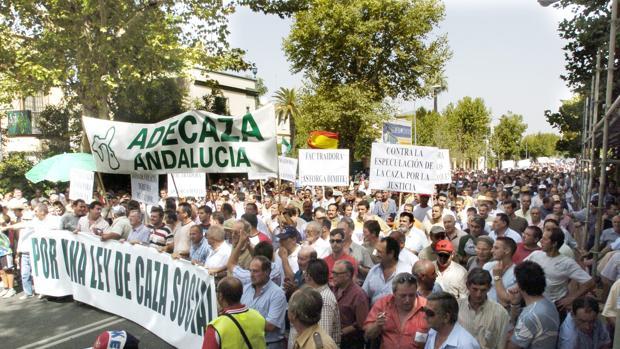 Los fefensores del mundo rural se manifiestan en Córdoba en pos de su causa