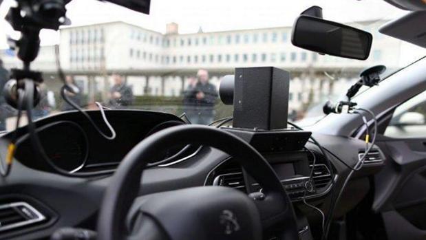 Uno de los vehículos franceses con el radar móvil incorporado
