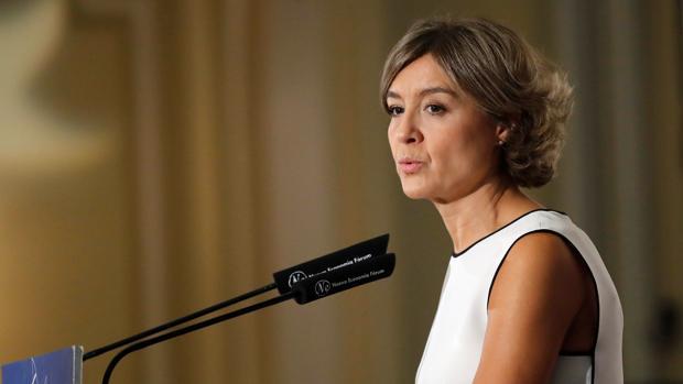 La ministra de Agricultura y Medio Ambiente, Isabel García-Tejerina