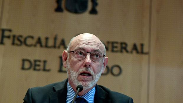 El fiscal general del Estado, Manuel Maza