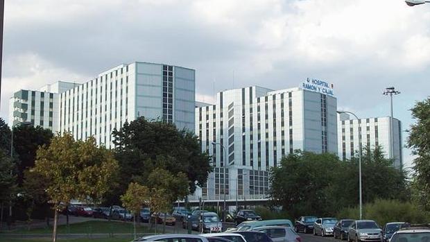 Fachada del Hospital Ramón y Cajal