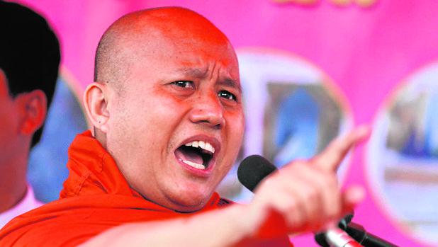 Monjes radicales como Wirathu lanzan ataques furibundos contra el islam