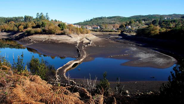 Estado en el que se encuentra el embalse de Eiras que abastece principalmente a Vigo