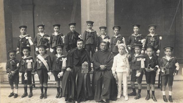 Primera comunión en los años 1920