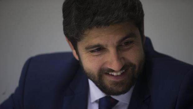 Fernando López Miras, en una entrevista concedida a ABC