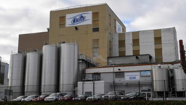 La fábrica de Lactalis en Craon donde se investiga el origen de la contaminación