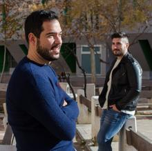 Borja Mediero y Pedro Soriano