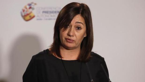 La presidenta del Gobierno balear, Francina Armengol