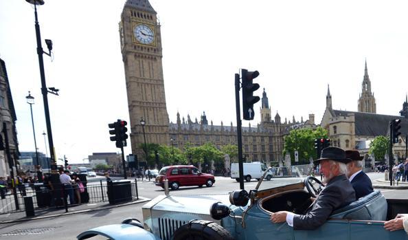 Vehículos en el centro de Londres