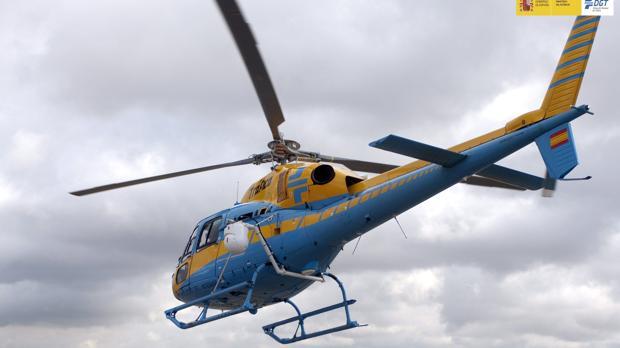 Fotografía facilitada por la Dirección General de Tráfico (DGT) de un nuevo radar Pegasus