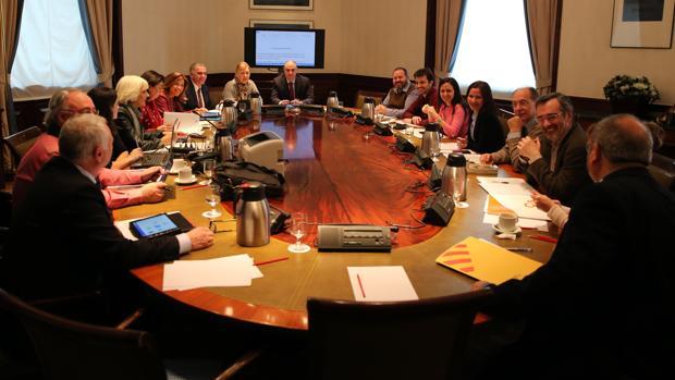Reunión de la Subcomisión del Congreso que negocia el Pacto por la Educación