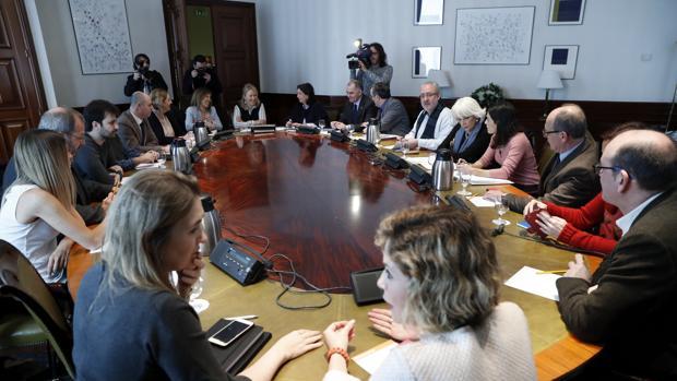 Reunión de la Subcomisión que negocia el pacto educativo
