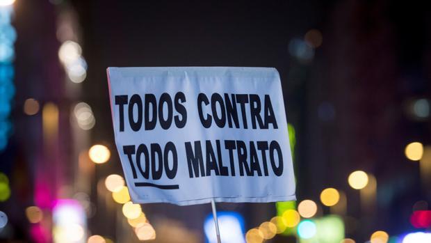 Manifestación del pasado día 8 de marzo a favor de los derechos de la mujer