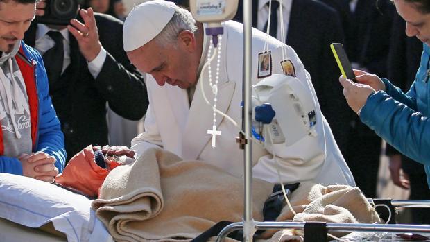 Foto de archivo del Papa Francisco en 2016