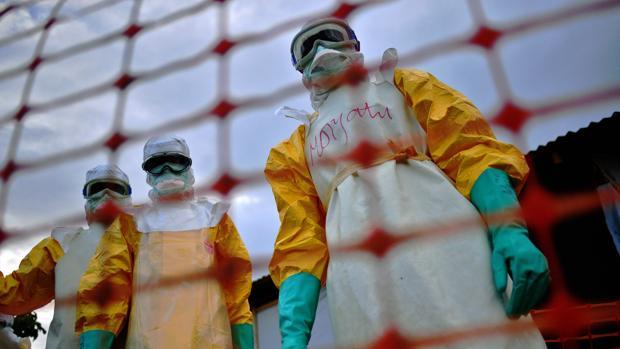 Personal de Médicos Sin Fronteras, en una imagen de archivo