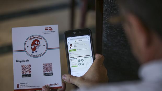 Nefrodiet, la app que ayuda a los enfermos renales a mantener la línea y alejar los tóxicos para el riñón