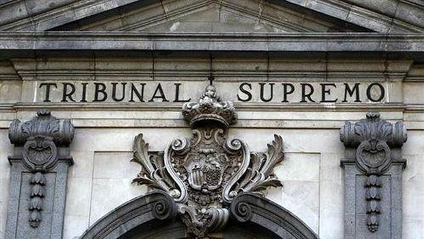 Fachada del edificio del Tribunal Supremo, Madrid