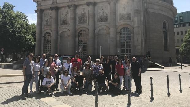 Seguidores de Camino Neocatecumenal en Berlín
