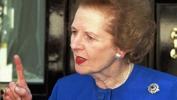 Thatcher ejerció como primera ministra desde 1979 a 1990