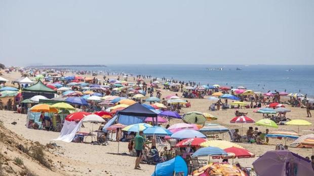 Playa de Punta Umbría (Huelva) este sábado